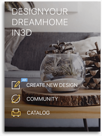 Homestyler home design app